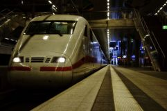 Germany High Speed Train Royalty Free Stock Photography