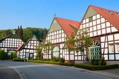 germany houses byn Royaltyfria Bilder