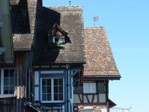 germany houses gammalt Arkivfoto