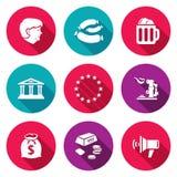Germany Icons Set. Vector Illustration. Stock Image