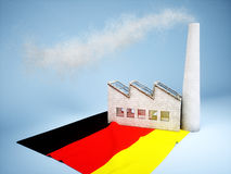 Germany industry development Royalty Free Stock Photos
