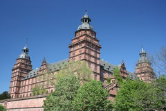 germany johannisburgschloss Arkivfoton
