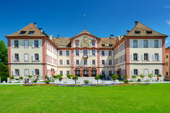 Germany - July 10, 2012: Old palace on Mainau island. Stock Image