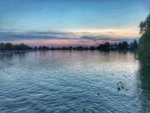 germany lake Royaltyfri Foto
