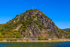 germany loreley Royaltyfri Foto