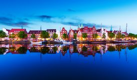 germany lubeck royaltyfri foto