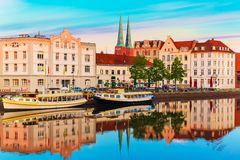 germany lubeck arkivfoton