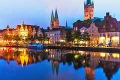 germany lubeck Royaltyfri Bild