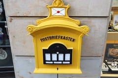 Germany mail box stock photography