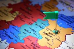 Germany Map Stock Photos