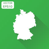 Germany map icon. Business cartography concept outline Germany p Stock Images