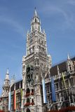 germany marienplatz munich Royaltyfria Bilder