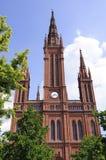 germany marktkirche Wiesbaden zdjęcia stock