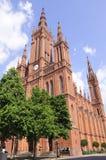 germany marktkirche Wiesbaden obrazy royalty free