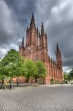germany marktkirche Wiesbaden zdjęcia royalty free