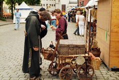Germany, medieval festival Royalty Free Stock Images