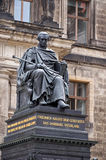 Germany. Monument Friedrich August in Dresden. 16 June 2016. Stock Image
