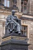 germany Monument Friedrich August i Dresden 16 Juni 2016 Fotografering för Bildbyråer