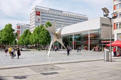 germany Monument i den Prague gatan i Dresden 16 Juni 2016 Royaltyfri Fotografi