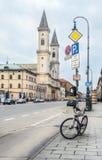 Germany, Munich. Church Ludwigskirche. Stock Photos