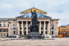 Germany, Munich.  National Theatre. Royalty Free Stock Photography