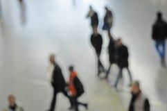 Germany, Munich, Passengers at railway station Stock Photography