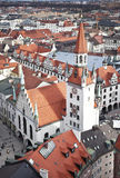 Germany, Munich. The view from the top Royalty Free Stock Photo