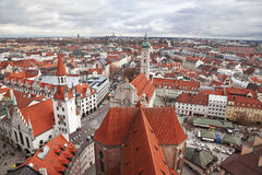 Germany, Munich. The view from the top Royalty Free Stock Photography