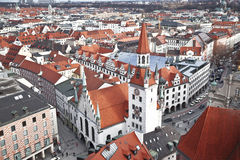 Germany, Munich. The view from the top Stock Photography