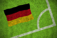 Germany national flag Royalty Free Stock Photography