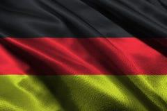 Germany national flag 3D illustration symbol. Royalty Free Stock Images