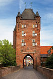 Germany, North Wall,The northern city gate Royalty Free Stock Photo