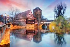 Germany - Nuremberg city Royalty Free Stock Photos