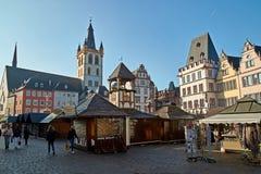 germany odważniak St Gangolf kościół, kościół rzymsko-katolicki dedykował St Gangulphus i po drugie stary kościelny budynek w th zdjęcie stock