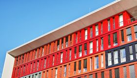 Office building landscape archtecture germany europe. Germany Office architecture building europe Stock Photo