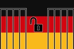 Germany Open Borders Stock Photos