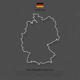 Germany outline Stock Images