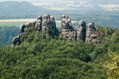 germany parkowy Saxony Obrazy Royalty Free