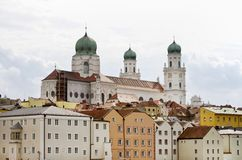 Germany Passau, town in Lower Bavaria Stock Image