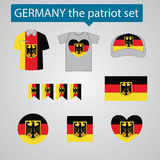 Germany the patriot set Royalty Free Stock Images