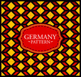 Germany pattern Stock Images