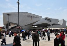 Germany Pavilion in Expo2010 Shanghai China Royalty Free Stock Photo