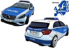 Germany Police Car Stock Photos