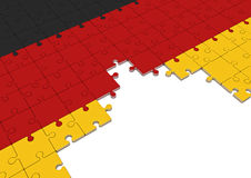 Germany refugees crisis Stock Image