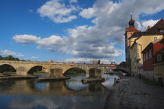 Germany,Regensburg. A view of Regensburg in Bavaria, Germany Stock Images