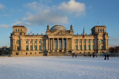 Germany, Reichstag (Bundestag) building in Berlin Stock Images