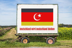 Germany remains Royalty Free Stock Image