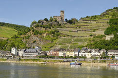 Germany, Rhine Valley royalty free stock photo