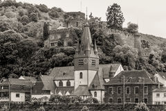 Germany, Rhine Valley, Unesco World Heritage, village Niederheim Royalty Free Stock Image