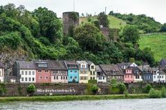 Germany, Rhine Valley, Unesco World Heritage, village Niederheim Royalty Free Stock Photos